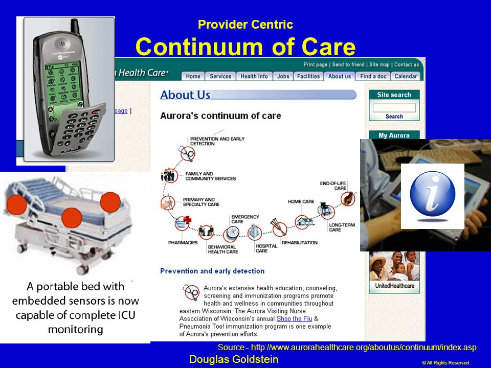 Provider Centric Continuum of Care