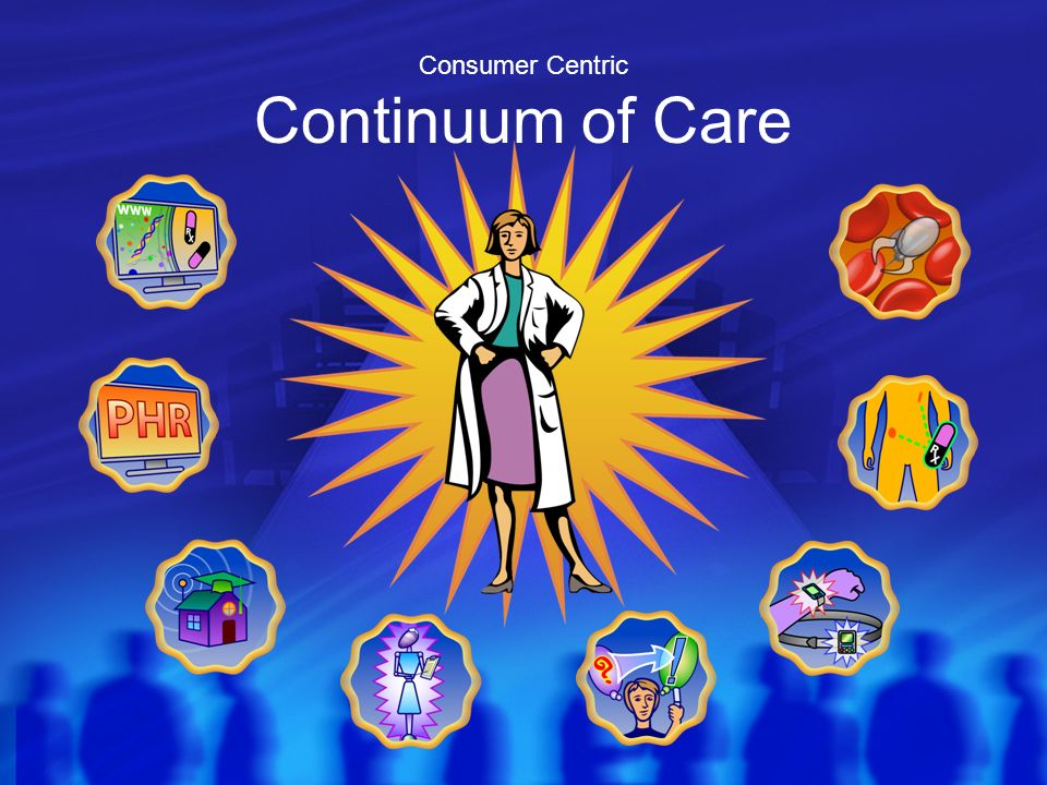 Consumer Centric Continuum of Care
