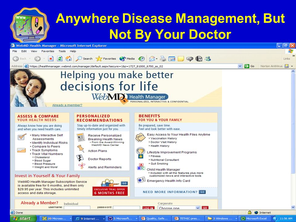 Anywhere Disease Management, But Not By Your Doctor