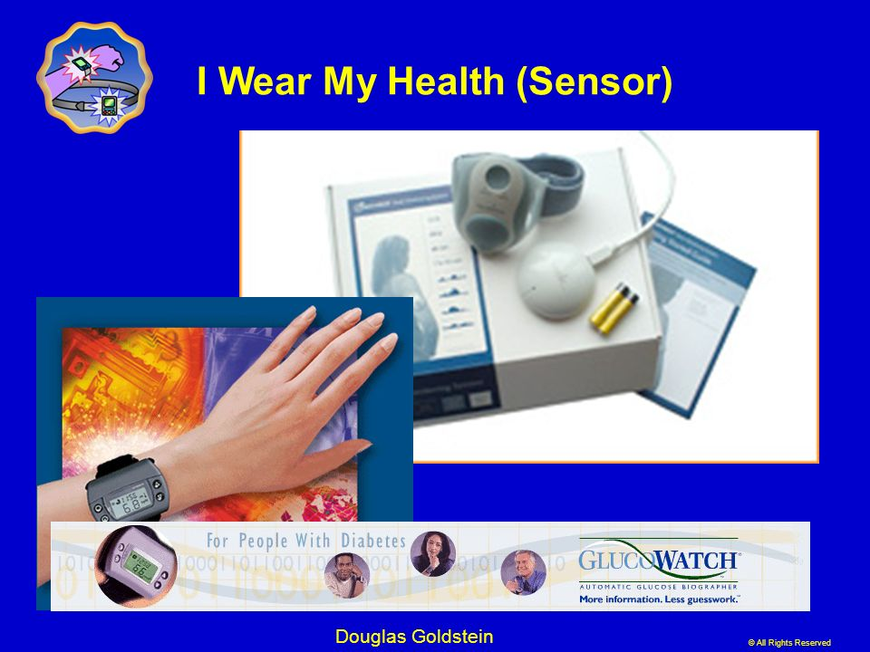 I Wear My Health (Sensor)