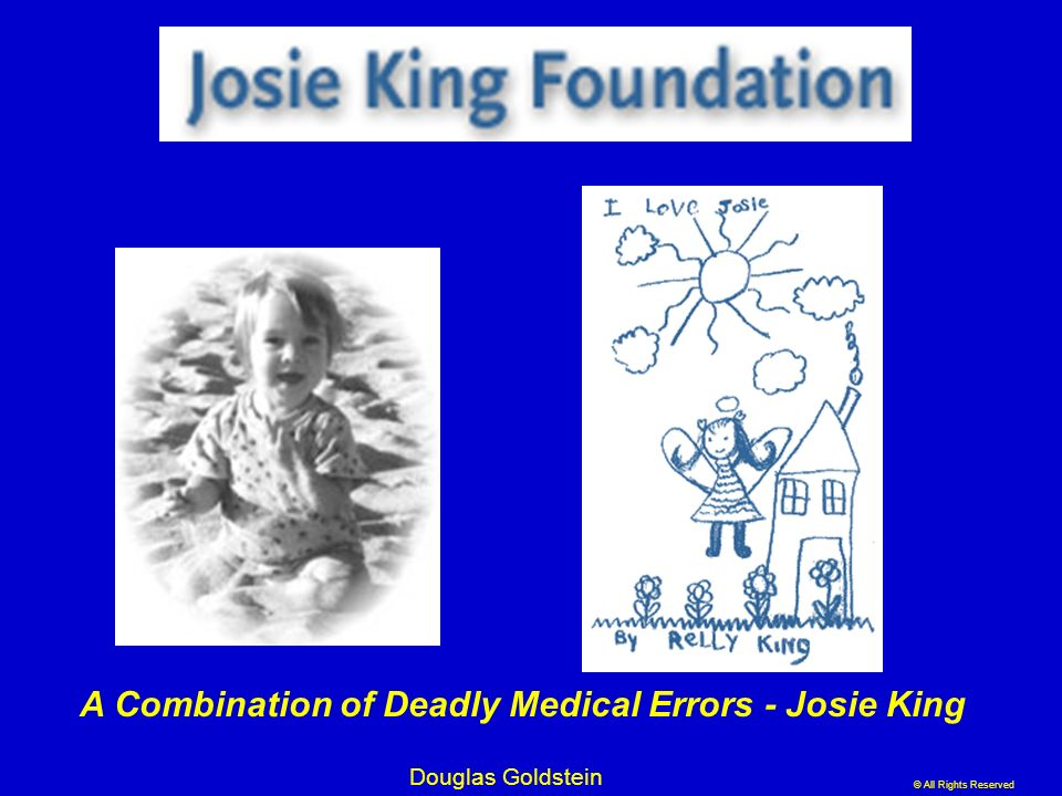 A Combination of Deadly Medical Errors - Josie King