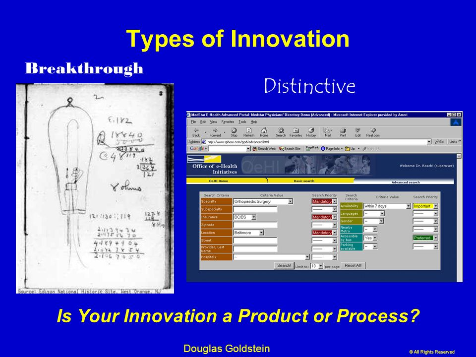 Is Your Innovation a Product or Process