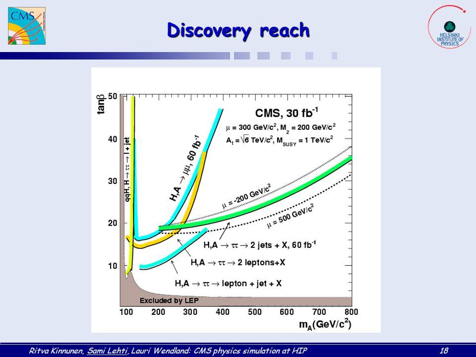 Discovery reach