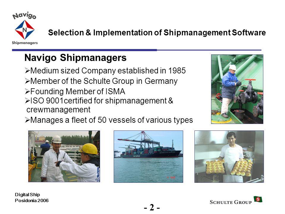 Navigo Shipmanagers - 2 -