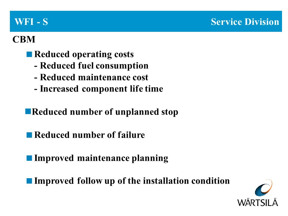 WFI- S Service Division