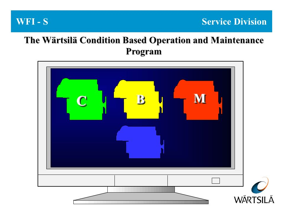 CBM - Condition Based Maintenance Thank you for your attention