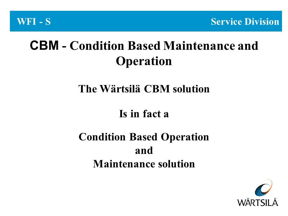 C B M WFI - S Service Division