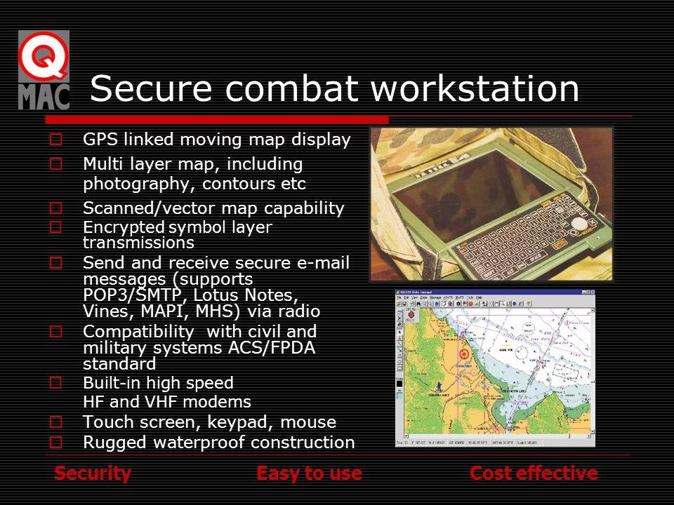 Secure combat workstation