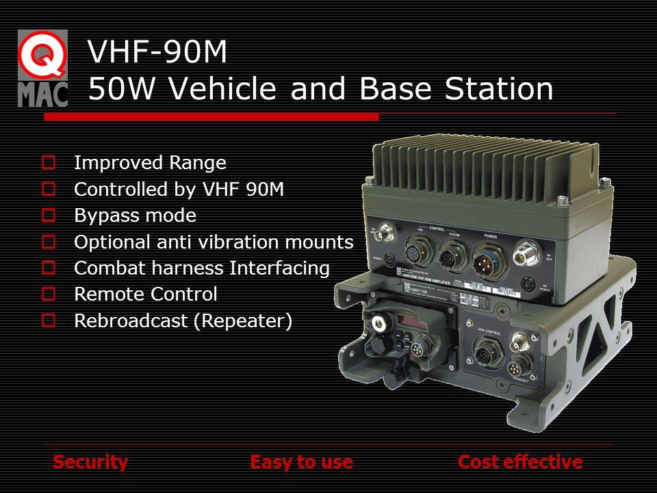 VHF-90M 50W Vehicle and Base Station