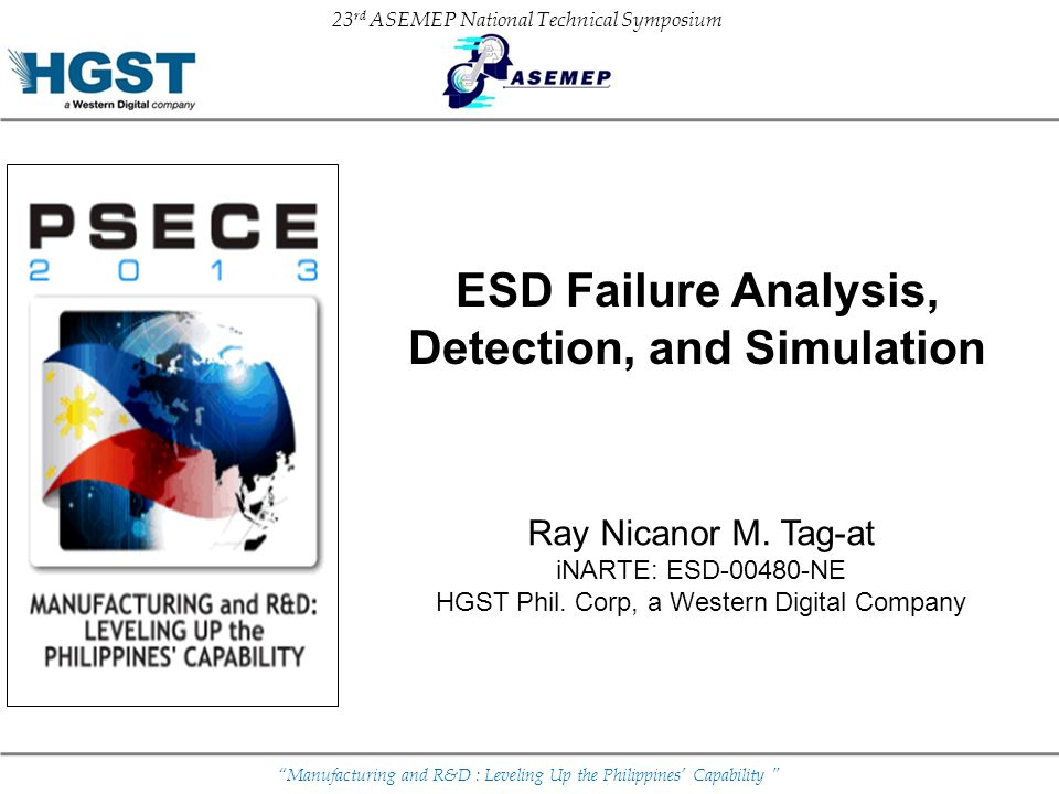 ESD Failure Analysis, Detection, and Simulation