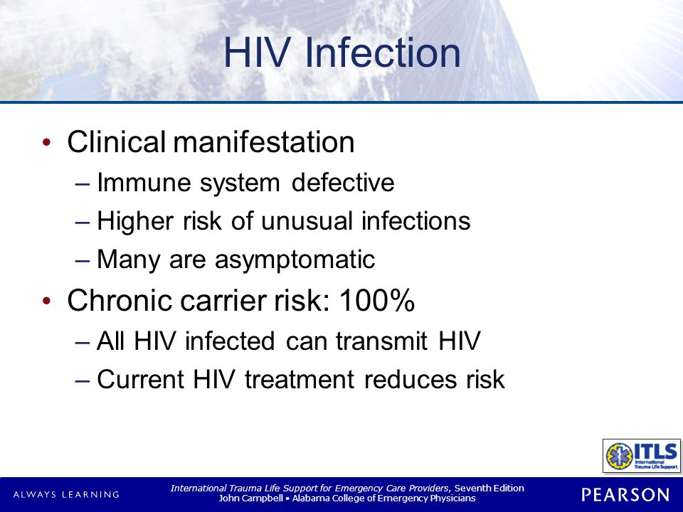 HIV Infection Health care protection Vaccine not available
