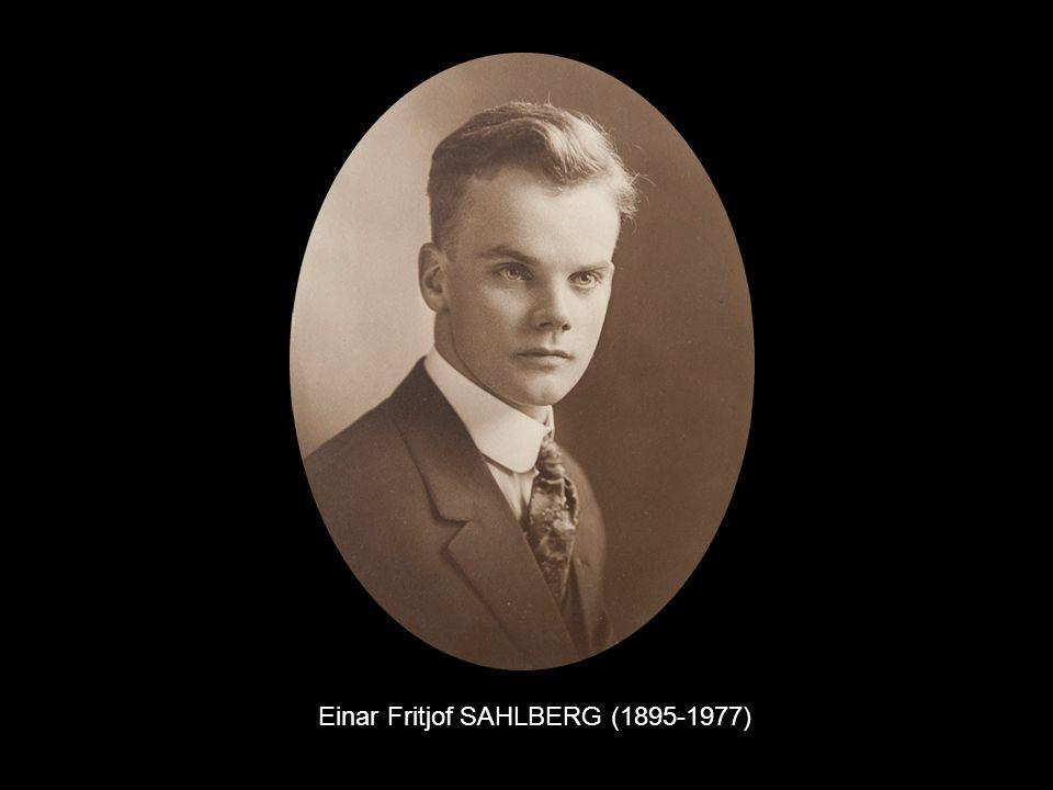 Einar Fritjof SAHLBERG (1895-1977)