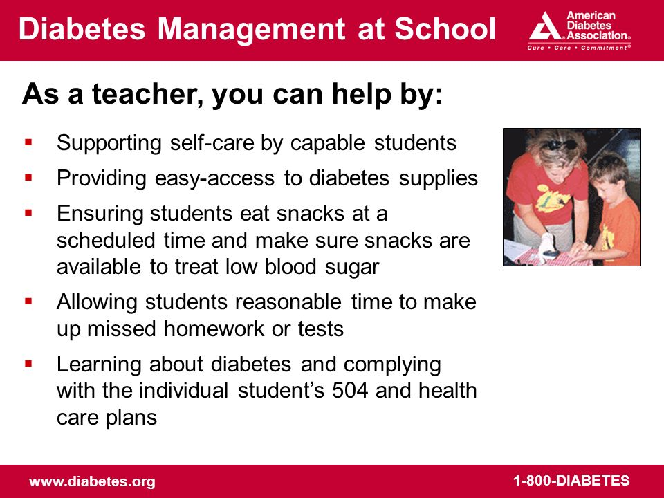 Diabetes Management at School