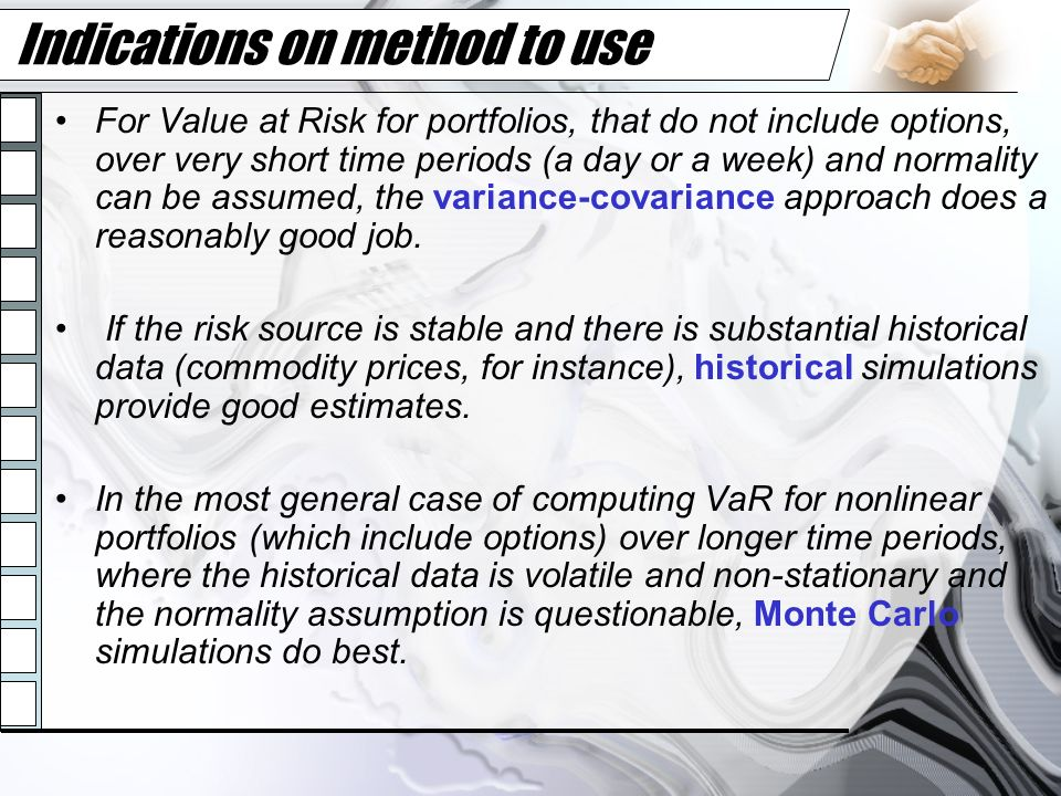 Indications on method to use