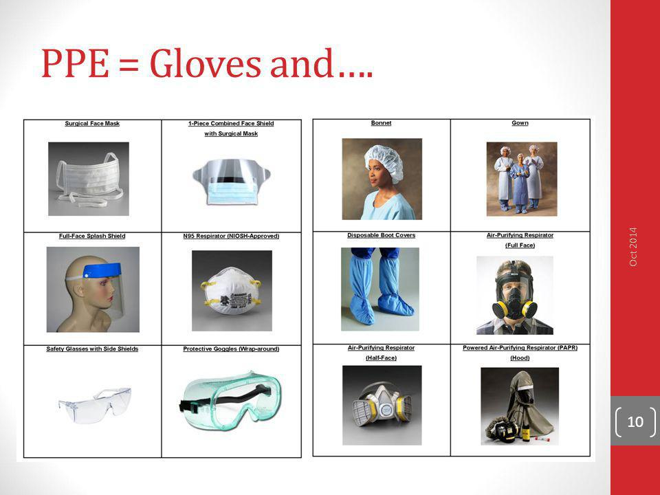 PPE = Gloves and…. Oct 2014 *Add png 3M Tourguard Safety Glasses