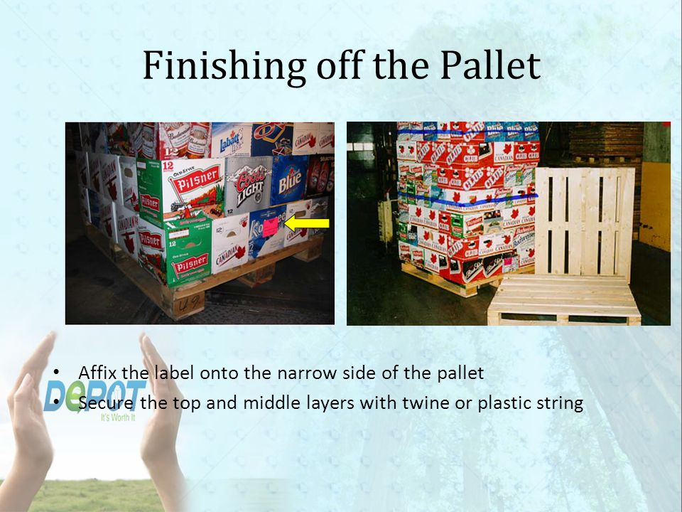 Finishing off the Pallet