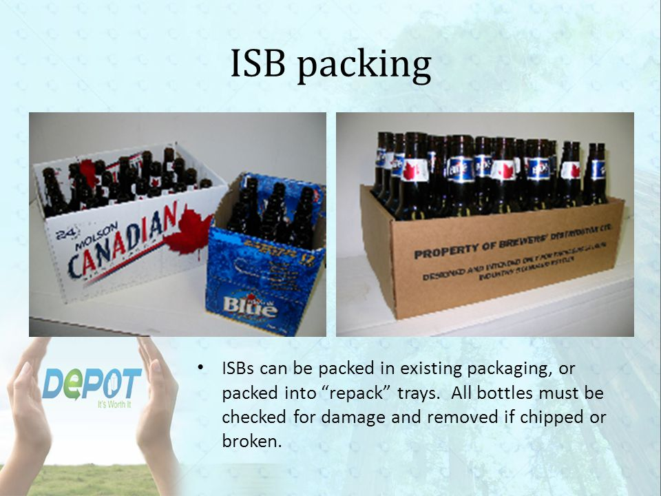 ISB packing