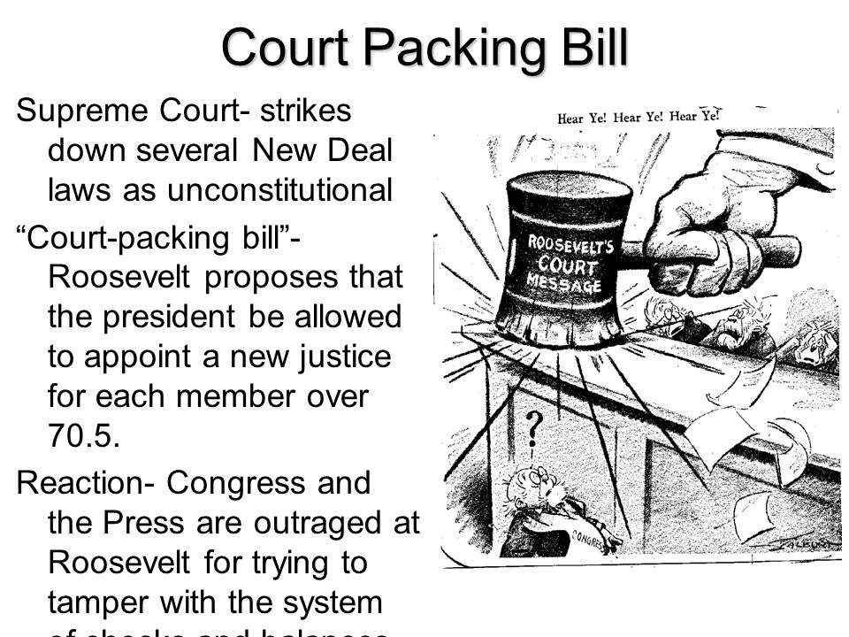 Court Packing Bill