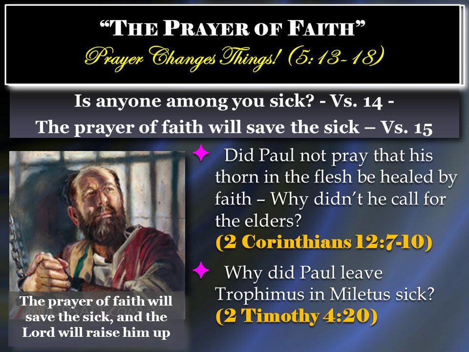 Why did Paul leave Trophimus in Miletus sick (2 Timothy 4:20)