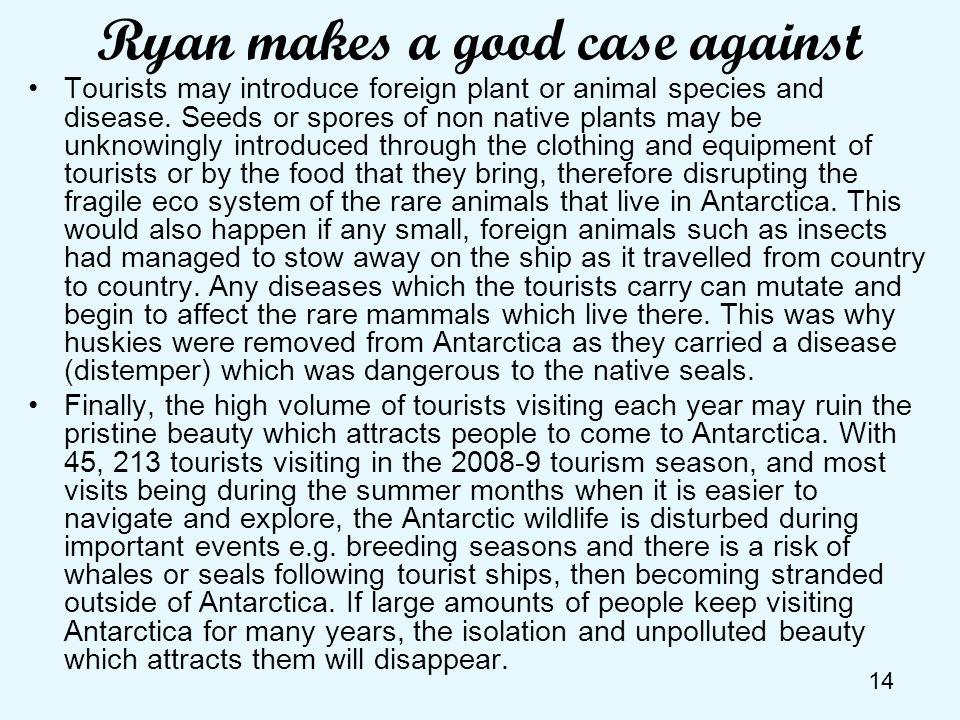Ryan makes a good case against