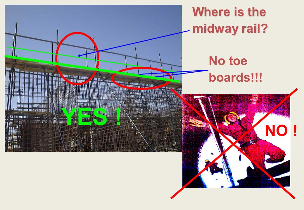 Where is the midway rail