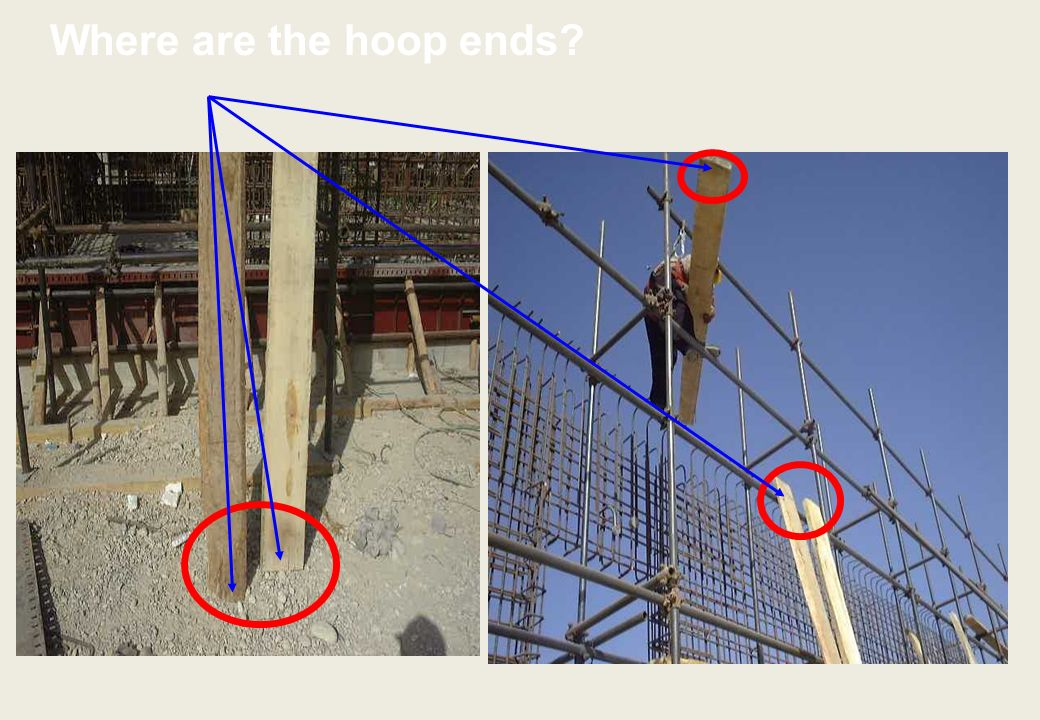 Where are the hoop ends
