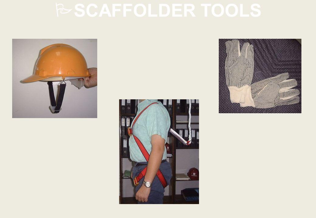 SCAFFOLDER TOOLS