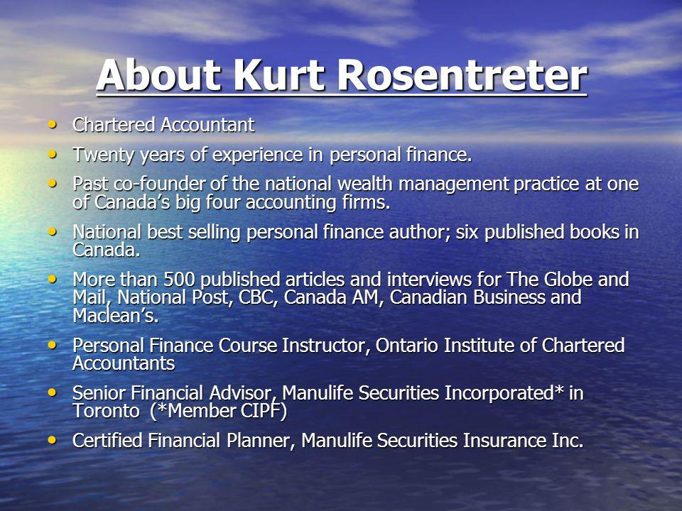 About Kurt Rosentreter