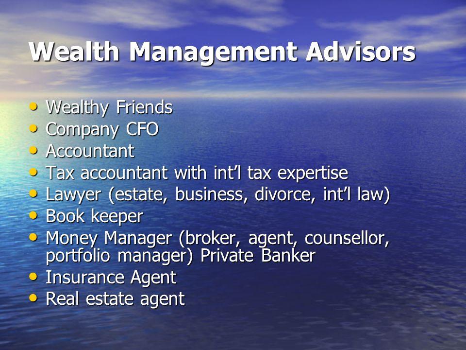 Wealth Management Advisors