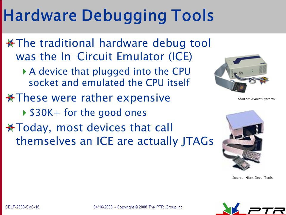 Hardware Debugging Tools