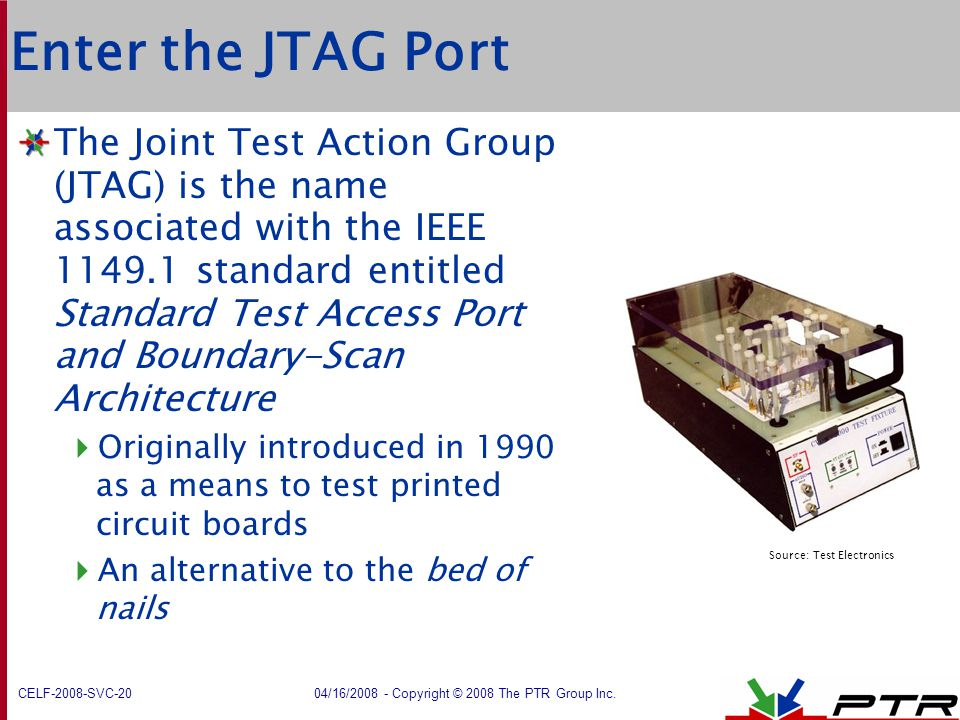 Source: Test Electronics
