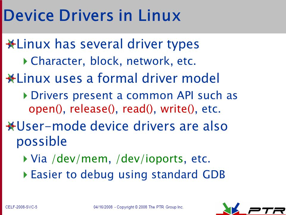 Device Drivers in Linux
