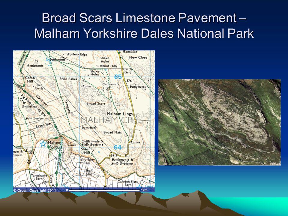 Broad Scars Limestone Pavement – Malham Yorkshire Dales National Park