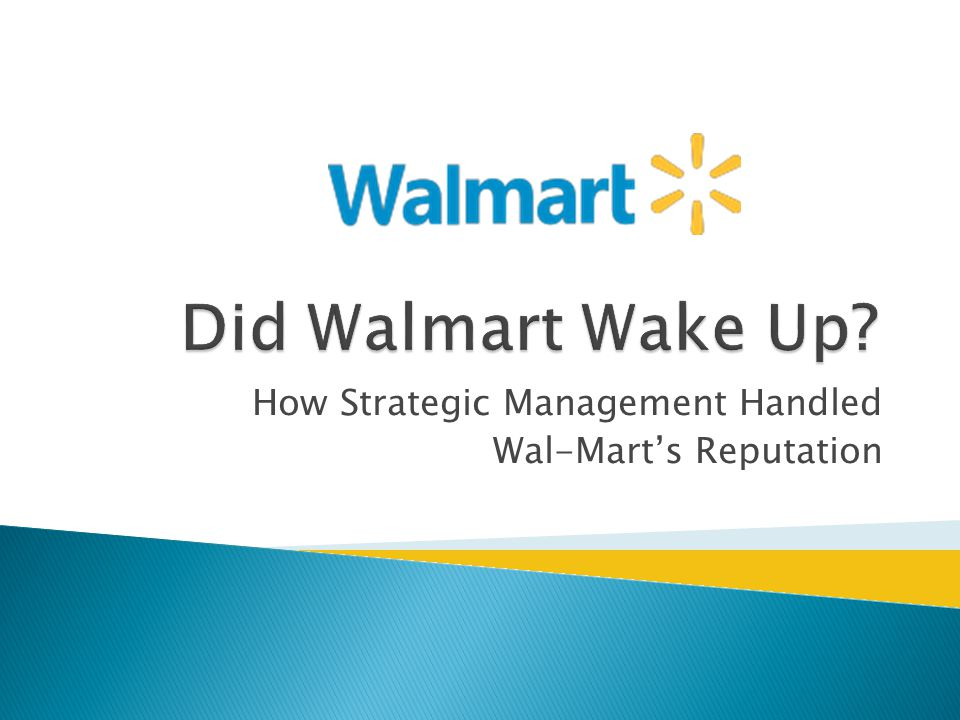 management and leadership of wal mart Founded in 1962 by sam walton, walmart inc, the world's most  iowa, as a  management trainee for clothing retailer j c penney,  under glass's  leadership, wal-mart entered its most expansive and profitable period.