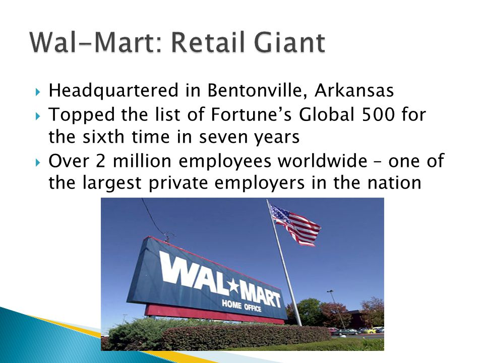 Wal-Mart: Retail Giant