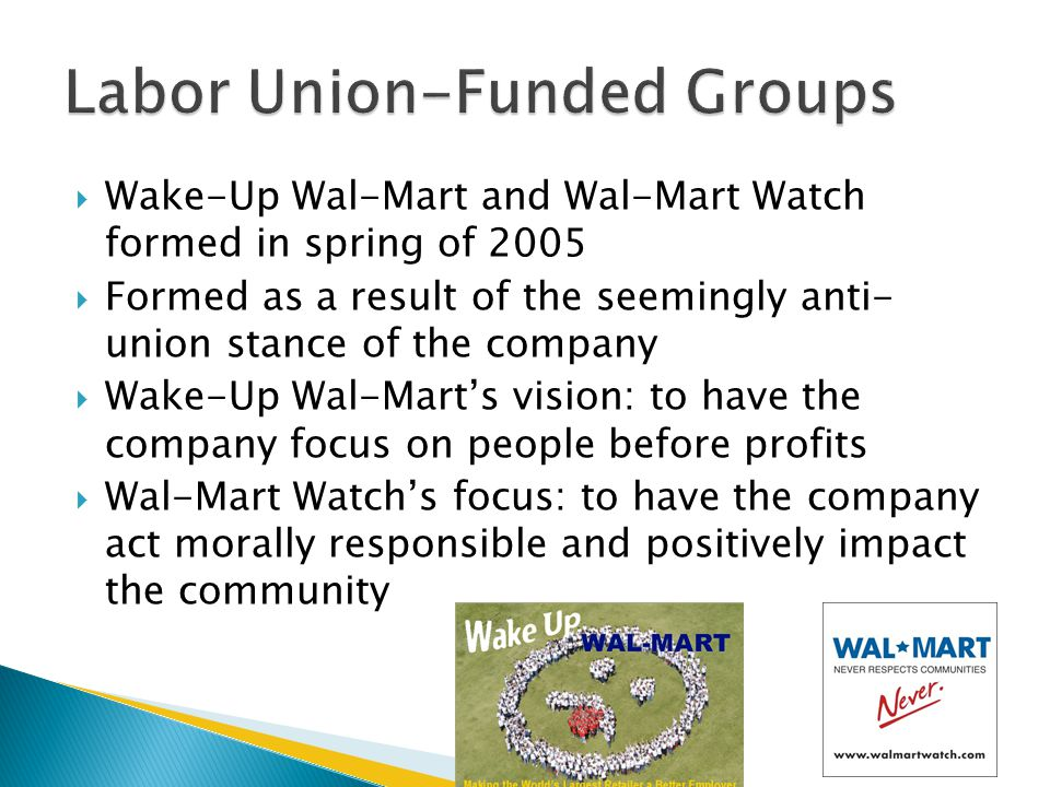 Labor Union-Funded Groups
