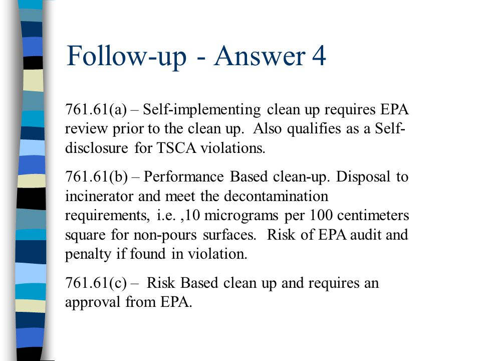 Follow-up - Answer 4