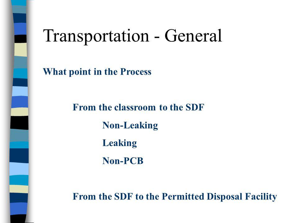 Transportation - General