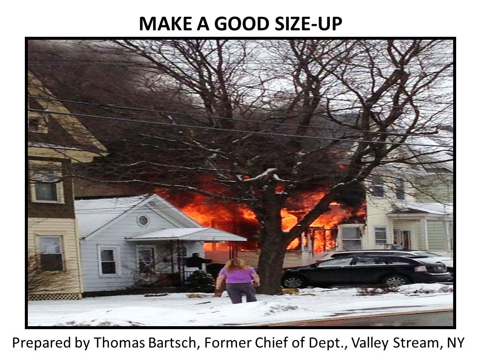 Prepared by Thomas Bartsch, Former Chief of Dept., Valley Stream, NY