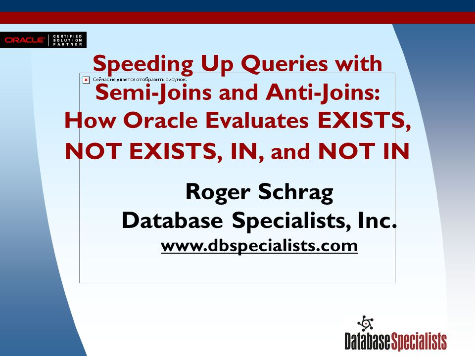 Database Specialists, Inc.