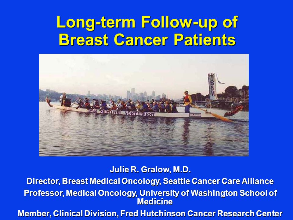 Long-term Follow-up of Breast Cancer Patients