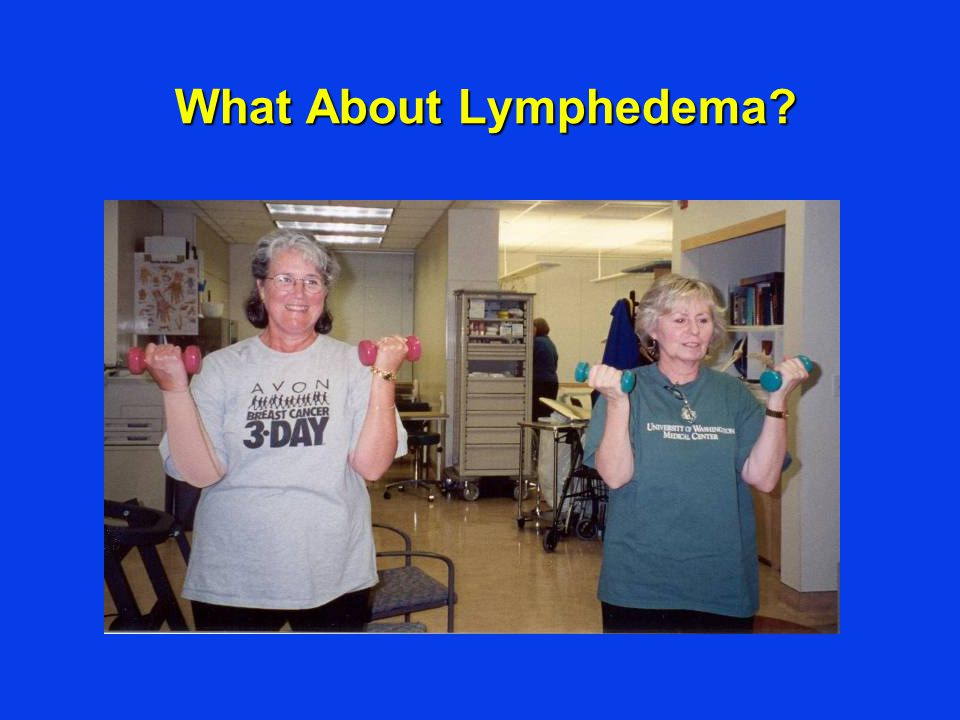 What About Lymphedema