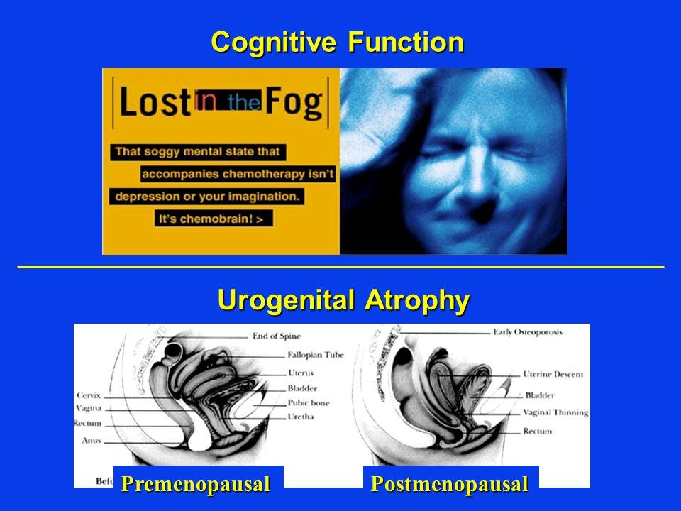 Cognitive Function Urogenital Atrophy