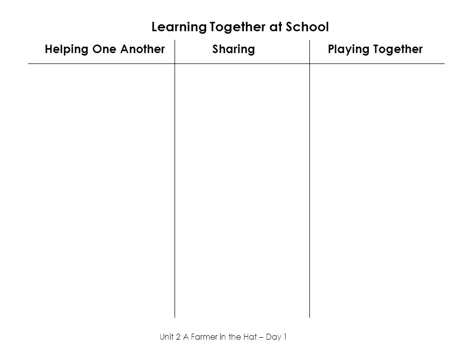 Learning Together at School