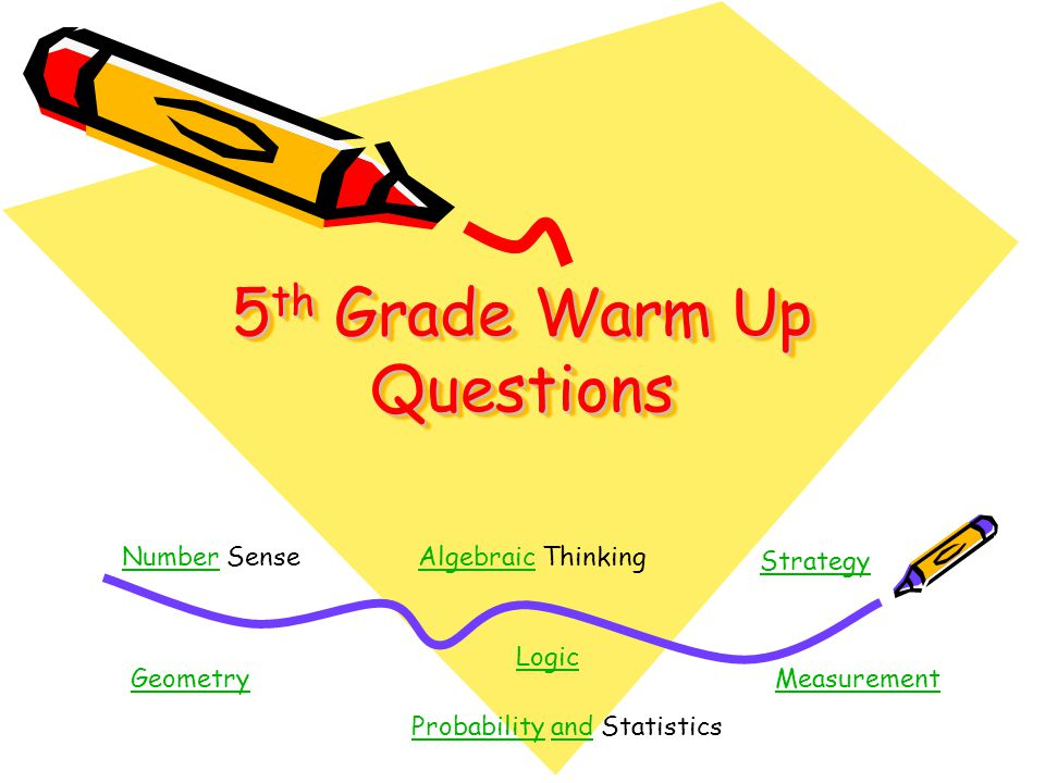 5th Grade Warm Up Questions