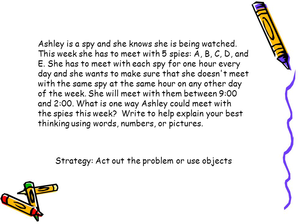 Ashley is a spy and she knows she is being watched