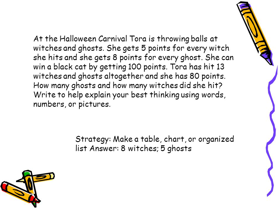 At the Halloween Carnival Tora is throwing balls at witches and ghosts