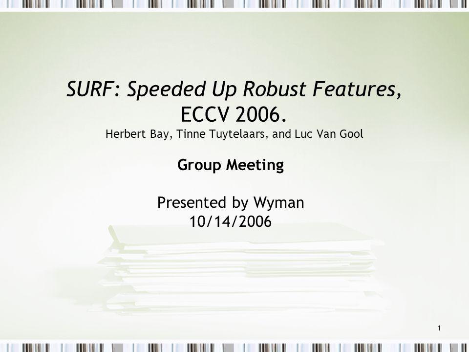 Group Meeting Presented by Wyman 10/14/2006