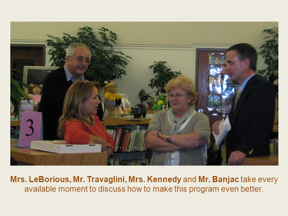 Mrs. LeBorious, Mr. Travaglini, Mrs. Kennedy and Mr