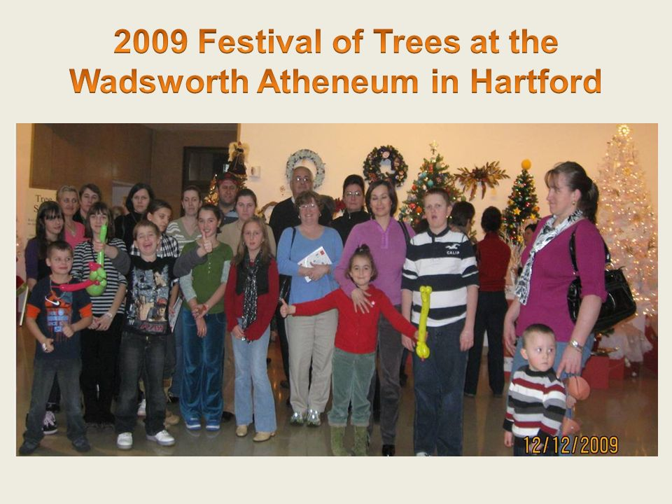 2009 Festival of Trees at the Wadsworth Atheneum in Hartford